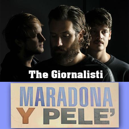 the giornalisti maradone y pelè