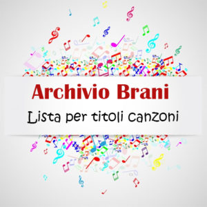 Archivio Brani