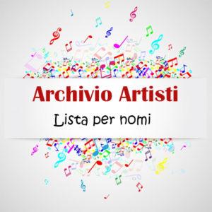 Archivio Artisti